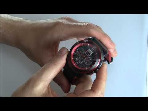 Jordi Chronograph Red Horizon Watch Review | aBlogtoWatch