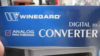 Winegard RC-DT09A digital TV converter - unboxing