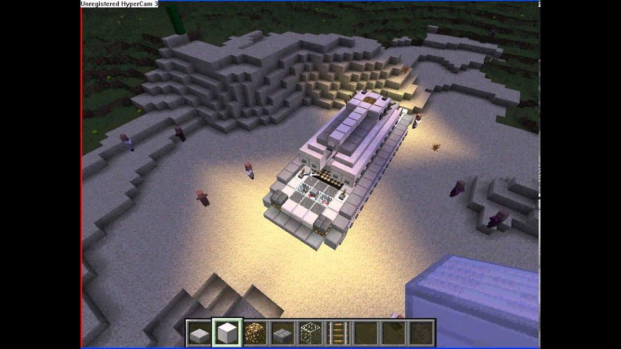 Как построить красивый танк в Minecraft #1 (Лучший) - YouTube
