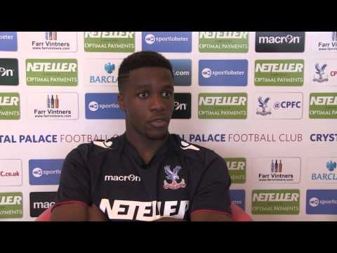 Wilfried Zaha On Returning To Crystal Palace