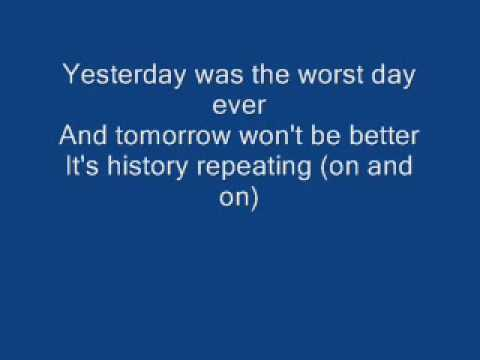 Simple Plan - The Worst Day Ever (6 a. m. The clock is ringing)