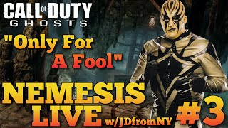 "COD Ghosts Live Nemesis DLC ""Goldrush"" Multiplayer Gameplay #3 