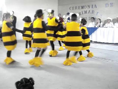 niños bailan la abeja miope