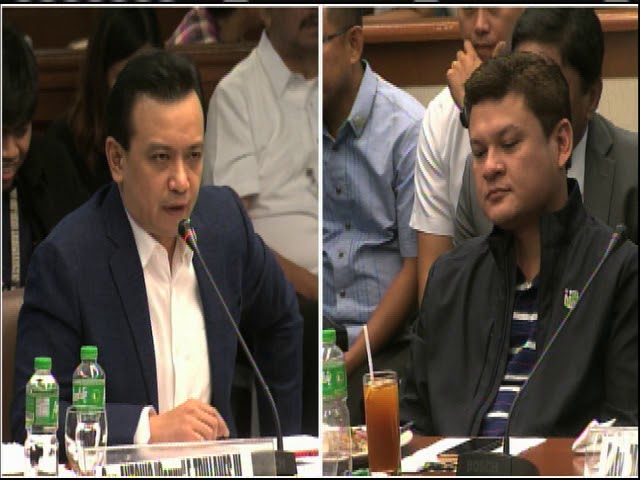 Trillanes, Paolo Duterte face off at Senate probe (part 1)