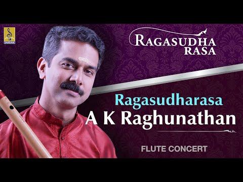 Ragasudharasa A Flute Concert By A.K.Raghunadhan