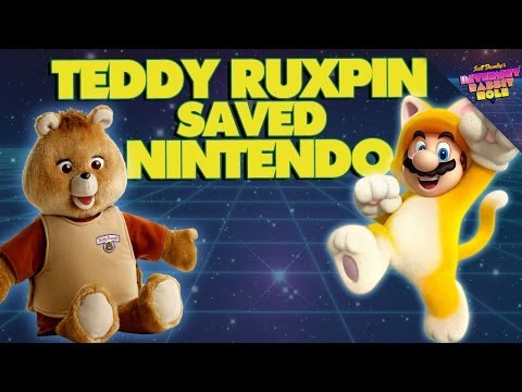 How Nintendo Was Saved by Teddy Ruxpin - Scott Bromley's Internet Rabbit Hole