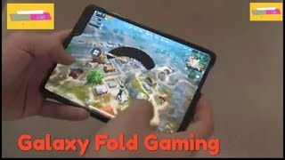 Samsung Galaxy Fold - PUBG Gaming Test