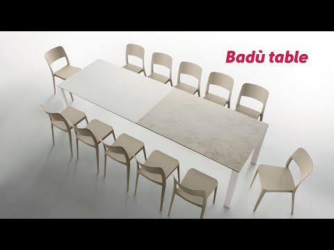 Opening Badù Table