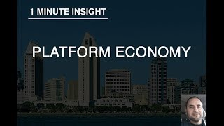 1 Minute Insight - Change and The Platform Economy