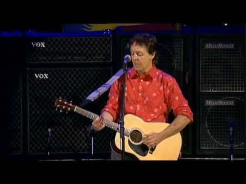 Paul McCartney - Blackbird