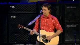 Watch Paul McCartney Blackbird video