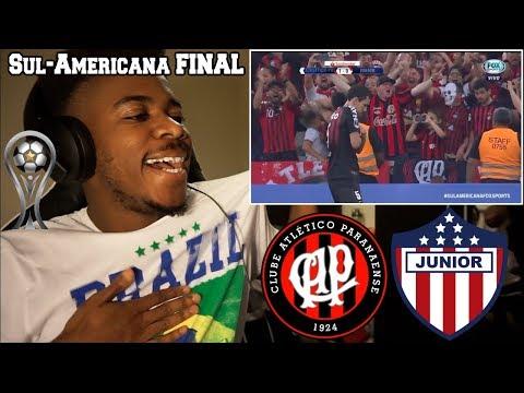 ATHLETICO-PR x JUNIOR BARRANQUILLA - Melhores Momentos (HD) FINAL SUL-AMERICANA (12/12/18)   Reação thumbnail