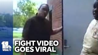 Video: Teacher-Student Fight Goes Viral