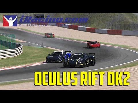 iRacing - Oculus Rift DK2 Gameplay!