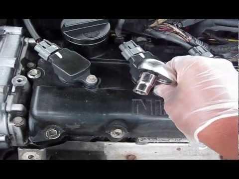 2002 Nissan Altima Misfire Start P0507 Bad IDLE part6