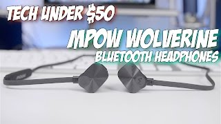 Tech Under $50 - Mpow Wolverine Bluetooth Headphones