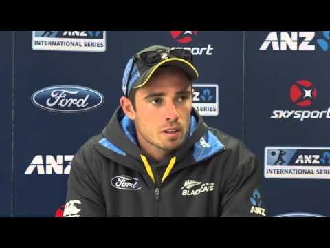 Tim Southee post day three of first ANZ Test v Sri Lanka, Dunedin