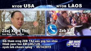 SUAB HMONG NEWS:  Zeb Yaj version of hitting and Intended to kill Alain Lee