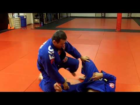 Jiu Jitsu Techniques - Half Guard Pass Defense Image 1