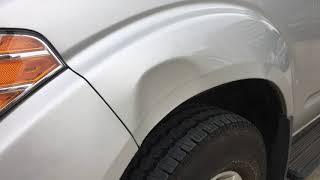 Nissan Frontier fender dent removal