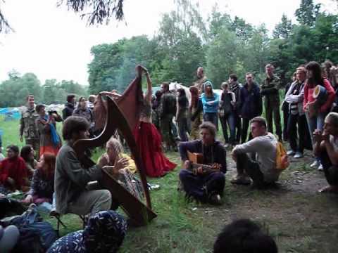 'Купала на Рожайке 2012'. Арфа, гитара, ...
