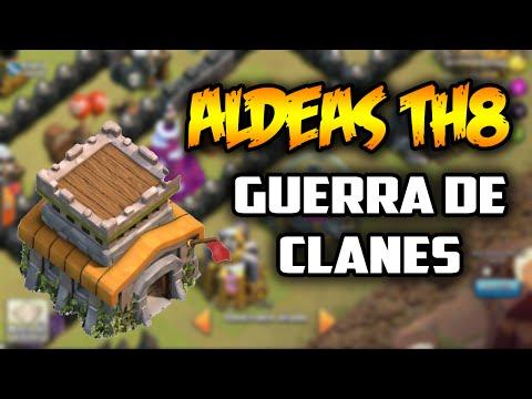 Aldeas de Guerra Ayuntamiento 8 | Clash of Clans | TH8