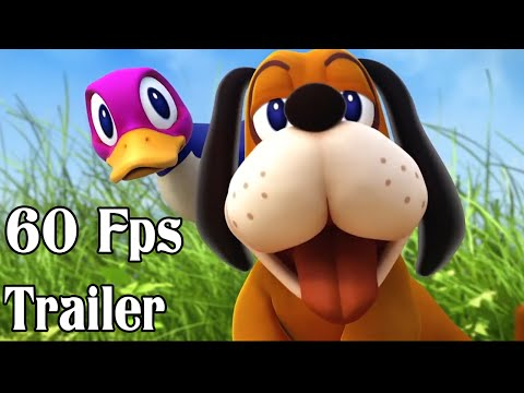 Super Smash Bros 4 Duck Hunt Dog 60fps Cutscenes Trailer | Wii U and 3DS 【1080p HD】