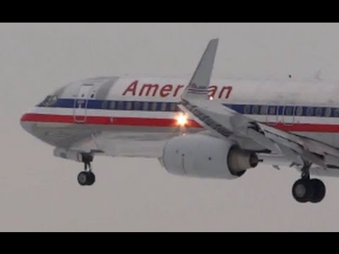 Planespotting Compilation #16: O'Hare International Airport -- American, United Airlines, Regionals