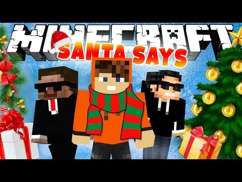 ВЫПОЛНЯЕМ ЗАДАНИЯ САНТЫ! [Minecraft Santa Says Mini-Game]