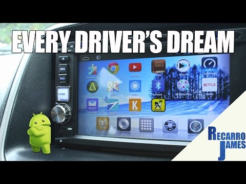 Android Car Radio - Awesome in-Dash Multimedia Stereo