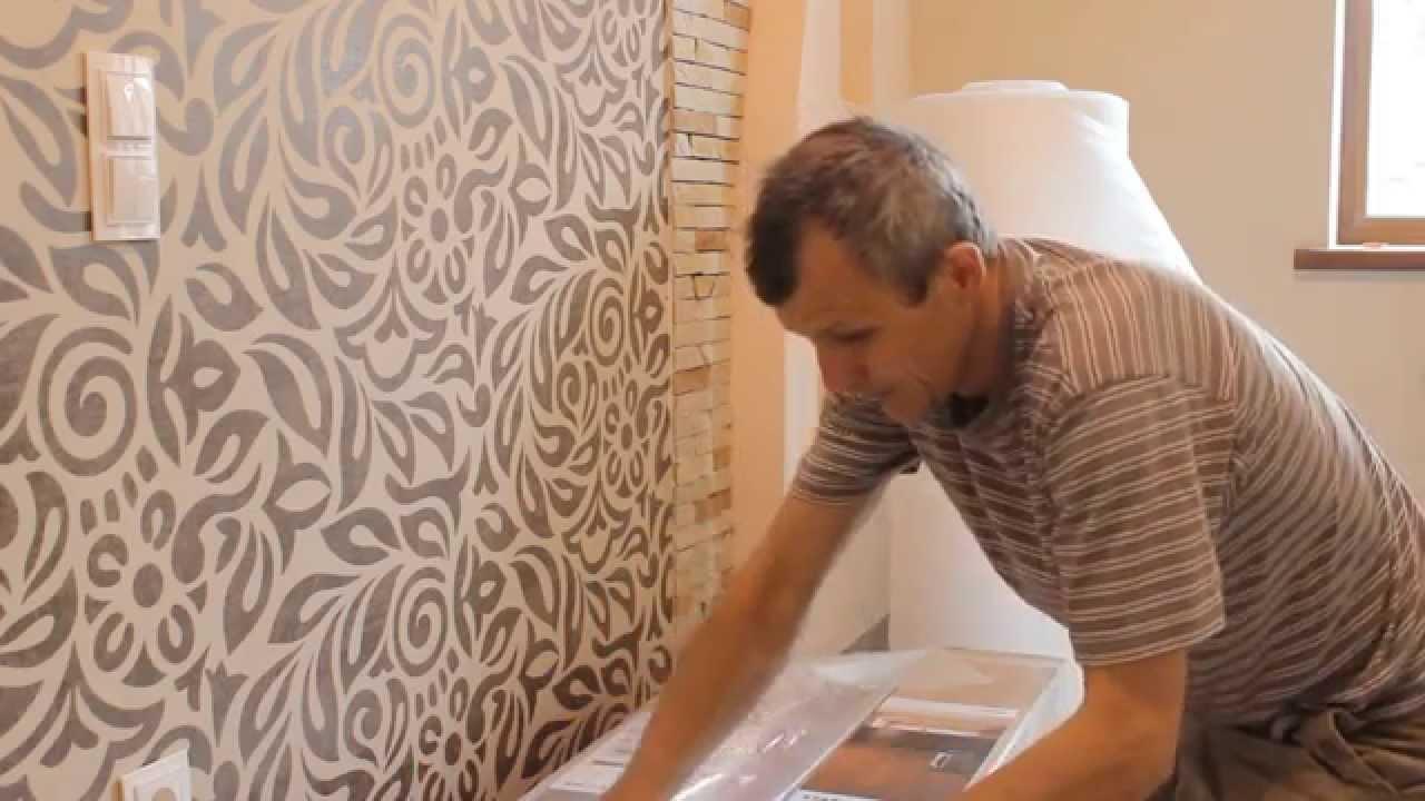 Poser du parquet mural societe renovation angers soci t - Poser du tissu mural ...