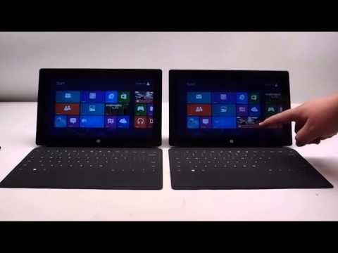 Surface Pro Vs Surface RT