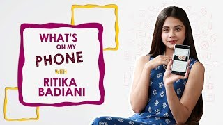 What's On My Phone With Ritika Badiani | Phone Secrets | Exclusive Interview