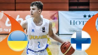 Ukraine v Finland - CL 9-16 - Full Game - FIBA U16 European Championship Division B 2018  from FIBA