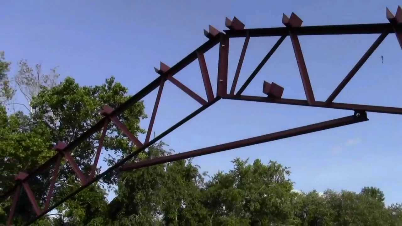 Steel trusses and pole barn kits american made youtube for Where to buy trusses