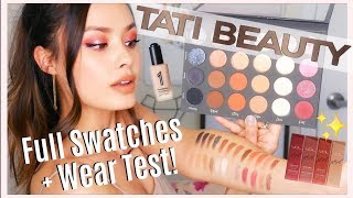 NEW IN BEAUTY: Tati Beauty Palette Swatches + Wear Test, Miracle Foundation, My VDL Collab