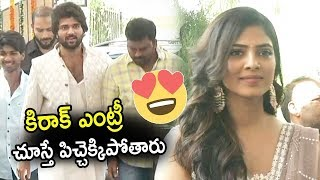 Vijay Devarakonda Kirak Entry || Mythri Movie Makers andquot;Heroandquot; Launch | Tollywood News | TopTeluguMedia
