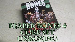 Reaper Bones 4 Core Set Unboxing