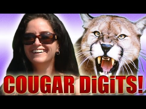 The Elusive Cougar CAPTURED! Milf DiGiTS (DiGiTS Show)