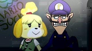 WALUGI'S SAD STORY!?! - Smash Bros Ultimate Animations