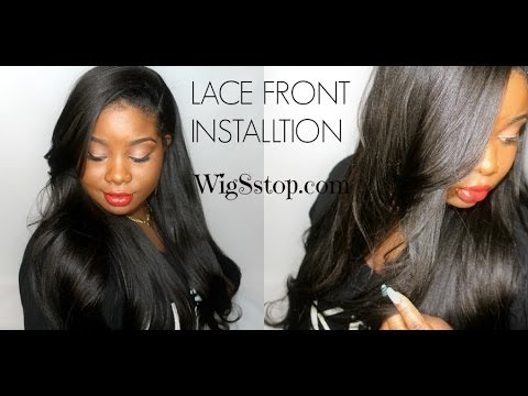 Youtube How To Put On A Lace Front Wig 20