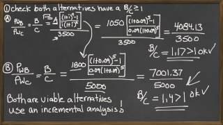 Download Lagu Benefit Cost Ratio comparison of two alterantives - Engineering Economics Gratis STAFABAND