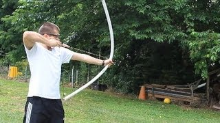 Powerful pvc pipe bow under $10