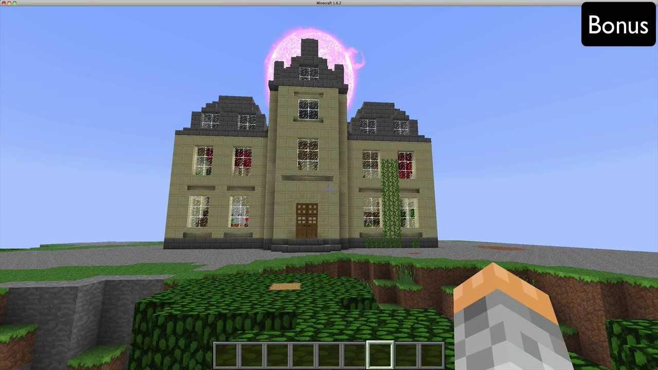 Minecraft construction de fou chateau luxueux youtube - Minecraft construction de fou ...