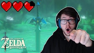 This is how YOU get the MASTER SWORD with  3 Hearts (Easy Tutorial)