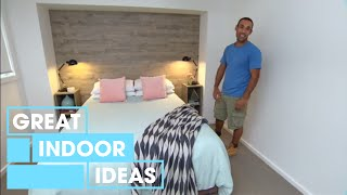 How To Build A DIY Timber Feature Wall | Indoor | Great Home Ideas