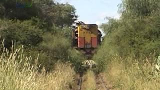 Tren explorador de Belgrano Cargas pasando por Tabaquillo