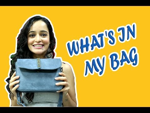 IWMBuzz: What's in my bag with Jayshree Venkatraman