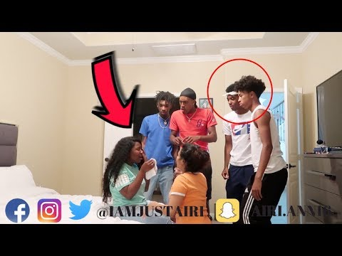 I CANT SEE ANYMORE PRANK ON BOYS * GOES TO FAR ** thumbnail