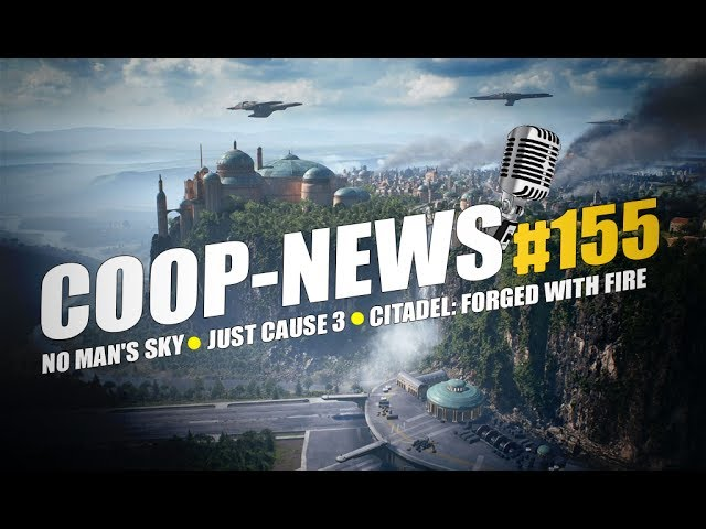Coop-News #155 / Анонс события Mythic Dungeon Invitational в World of Warcraft, анонс Citadel: Forged With Fire, дата ОБТ Star Wars: Battlefront 2